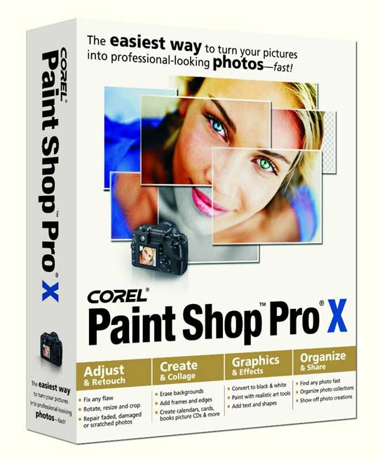 Corel Paint Shop Pro...